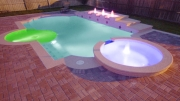 pool mit LED Beleuchtung